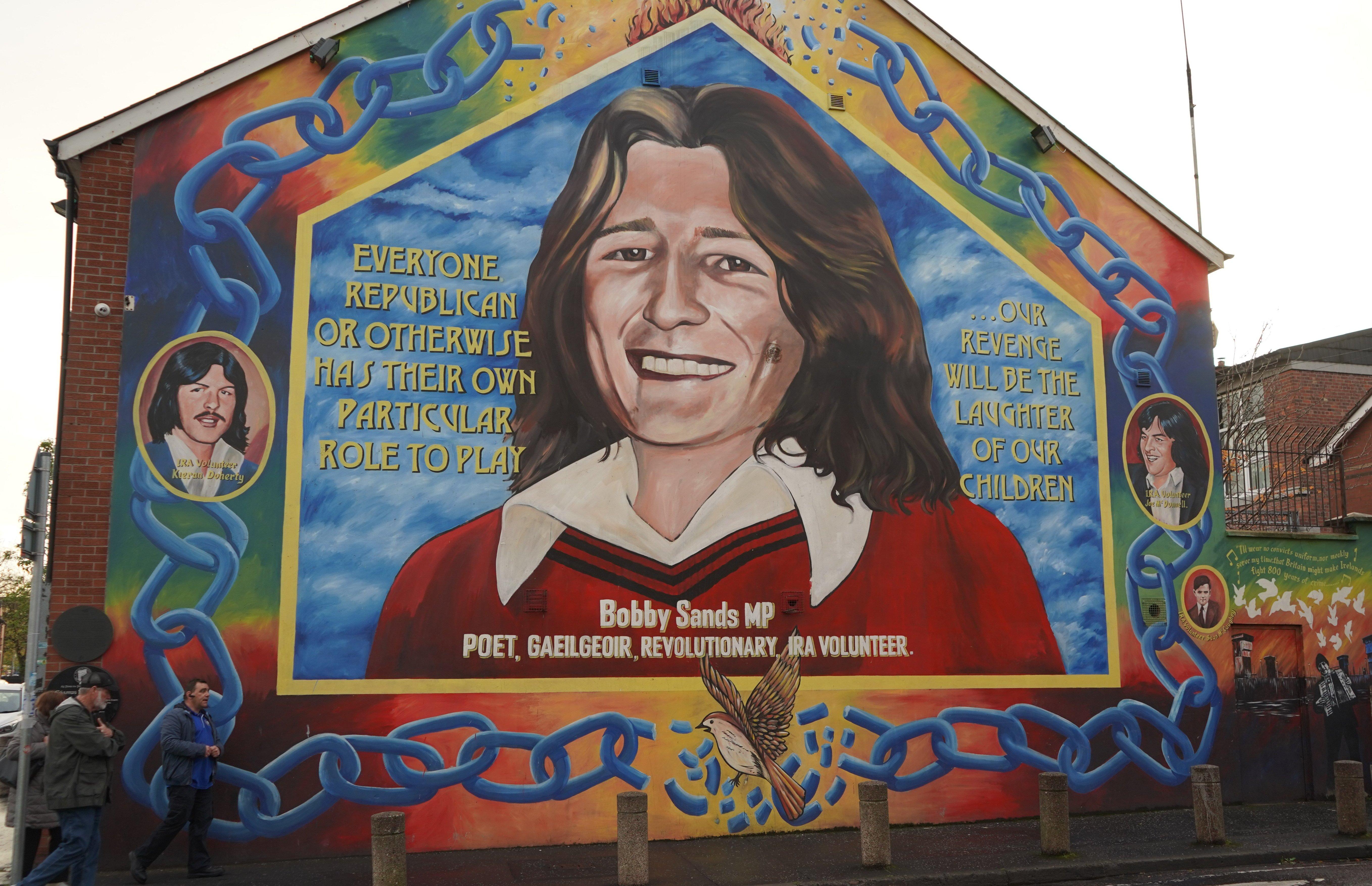 The Bobby Sands Mural